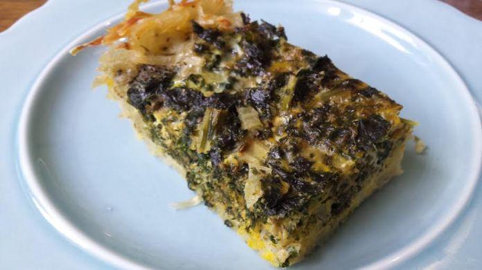 quiche with potato crust